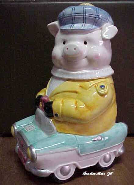 Road Hog Cookie Jar